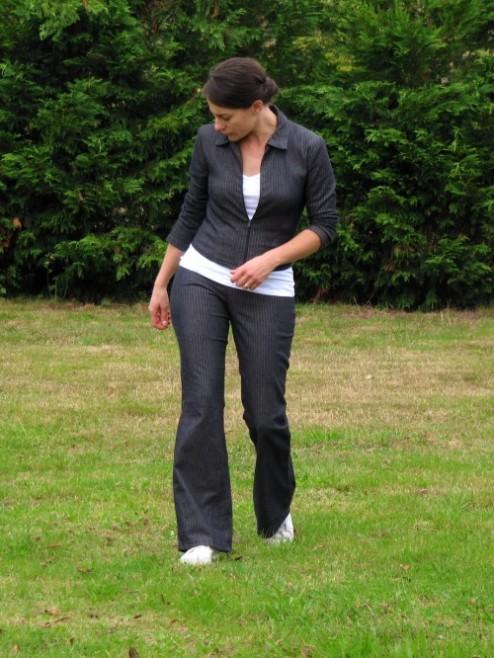 Pantalon Bootcut Burda
