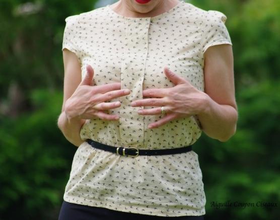 Minna Blouse Salme pattern