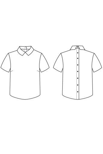 chemise i am juliette i am patterns